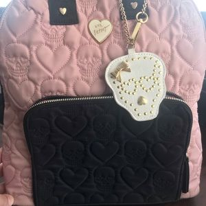 Betsey Johnson Bags - Betsy Johnson Backpack in Skulls